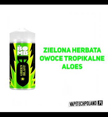 Premix THE BOMB - Green Blast 20ML Premix o smaku zielonej herbaty z owocami tropikalnymi i aloesem. 20ml płynu w butelce o po