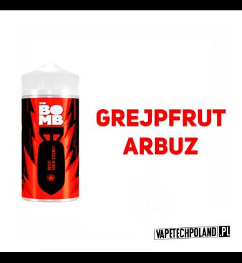 Premix THE BOMB - Red Shockwave 20ML Premix o smaku grejpfruta z arbuzem. 20ml płynu w butelce o pojemności 30ml Produkt Shake