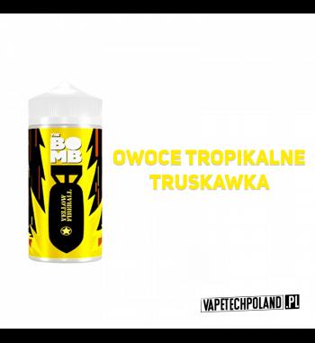 Premix THE BOMB - Yellow Fireball 20ML Premix o smaku owoców tropikalnych z truskawką. 20ml płynu w butelce o pojemności 30ml P