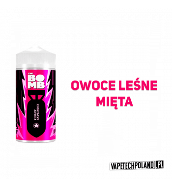 Premix THE BOMB - Violet Explosion 20ML Premix o smaku owoców leśnych z miętą. 20ml płynu w butelce o pojemności 30ml Produkt S