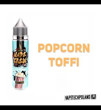 Premix VAPE CREW - TOFFIE CORN 50ML POPCORN TOFFI! 50ml płynu w butelce o pojemności 60ml.Produkt Shake and Vape przeznaczony