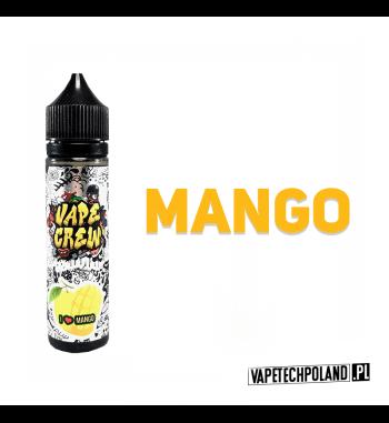 Premix VAPE CREW - I LOVE MANGO 50ML MANGO! 50ml płynu w butelce o pojemności 60ml.Produkt Shake and Vape przeznaczony do wcz