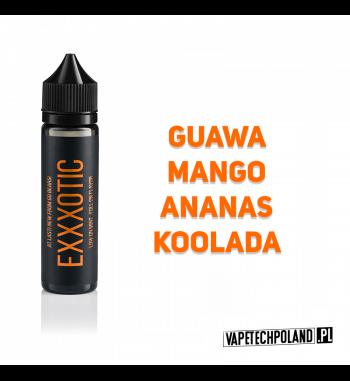 Premix XXX POD Series by Go Bears - EXXXOTIC 10ML Premix o smaku guawy, mango, ananasa i koolady.10ml płynu w butelce o pojem
