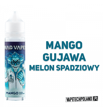 PREMIX MAD VAPES 40ML - MANGO