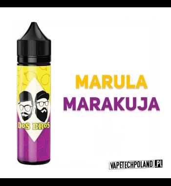 PREMIX DOS BROS - MARULA&MARAKUJA 40ML Premix o smakumaruli i marakui.40ml płynu w butelce o pojemności 60ml.Produkt Shake