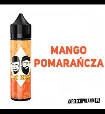 PREMIX DOS BROS - MANGO&POMARAŃCZA 40ML Premix o smakumango z pomarańczą.40ml płynu w butelce o pojemności 60ml.Produkt Sh