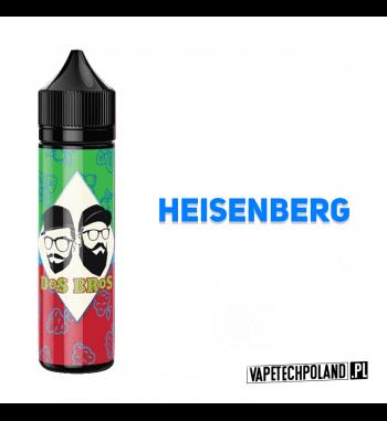 PREMIX DOS BROS - HEISENBERG 40ML Premix o smaku HEISENBERGa.40ml płynu w butelce o pojemności 60ml.Produkt Shake and Vape