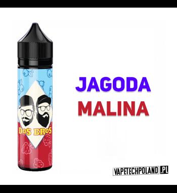 PREMIX DOS BROS - JAGODA&MALINA 40ML Premix o smakujagody z maliną.40ml płynu w butelce o pojemności 60ml.Produkt Shake an