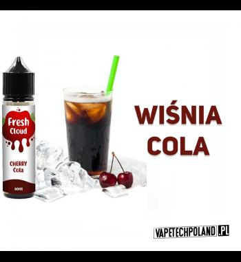 PREMIX FRESH CLOUD - CHERRY COLA 40ml Płyn o smaku coli z wiśnią.40ml płynu w butelce o pojemności 60ml.Produkt Shake and V