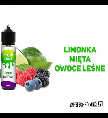 PREMIX FRESH CLOUD - LIMONE MINT, FOREST FRUITS 40ml Płyn o smaku limonki z miętą i owoców leśnych.40ml płynu w butelce o poj