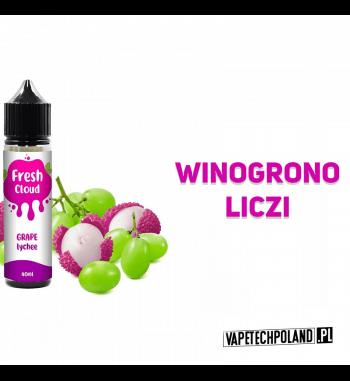 PREMIX FRESH CLOUD - GRAPE LYCHEE 40ml Płyn o smaku winogrona z liczi.40ml płynu w butelce o pojemności 60ml.Produkt Shake