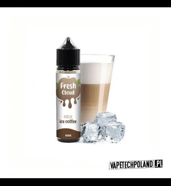 PREMIX FRESH CLOUD - MILK ICE COFFEE 40ml Płyn o smaku mrożonej kawy z mlekiem.40ml płynu w butelce o pojemności 60ml.Produ