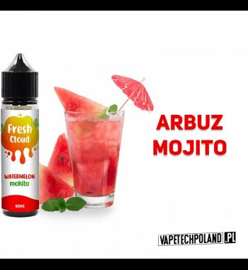 PREMIX FRESH CLOUD - WATERMELON MOHITO 40ml Premix o smaku arbuza z mohito. 40ml płynu w butelce o pojemności 60ml.Produkt Sh