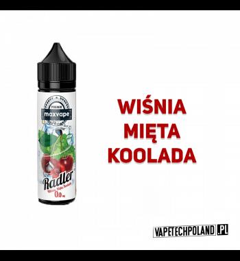 Premix RADLER 40ml - Wiśnia&Mięta&Koolada Premix o smaku wiśni z miętą i kooladą. 40ml płynu w butelce o pojemności 60ml.Prod