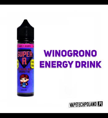 PREMIX SUPER R - NA BRUNETKI 40ml Premix o smaku winogrona z energy drinkiem. 40ml płynu w butelce o pojemności 60ml.Produkt
