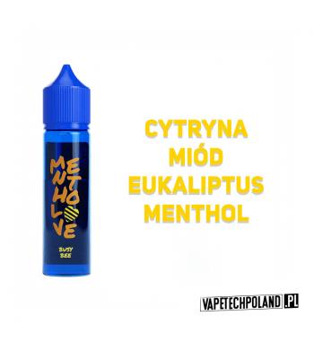 Premix Mentho LOVE - Busy Bee 40ml Premix o smakucytryny z miodem, eukaliptusem i mentolem.40ml płynu w butelce o pojemności