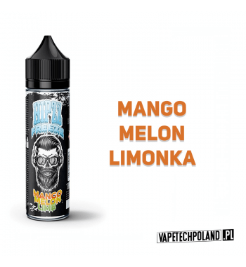 PREMIX Hipzz Freeze - Mango, Melon, Lime 50ml Premixo smaku mango, melona i limonki. 50ml płynu w butelce o pojemności 60mlP