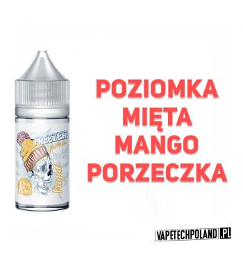 Premix Freezer - Frigid 20ml Premix o smaku poziomki, mięty, mango i porzeczki.20ml płynu w butelce o pojemności 30ml.Produ