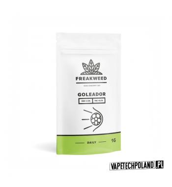 SUSZ KONOPNY FREAKWEED FLOW - GOLEADOR CBD 4-6% | THC < 0.2%INDICA 50% | SATIVA 50%WAGA 1g 1