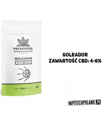 SUSZ KONOPNY FREAKWEED FLOW - GOLEADOR CBD 4-6% | THC < 0.2%INDICA 50% | SATIVA 50%WAGA 1g 2