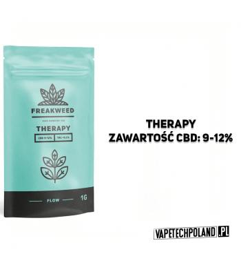 SUSZ KONOPNY FREAKWEED FLOW - THERAPY CBD 9-12% | THC < 0.2%INDICA 50% | SATIVA 50%WAGA 1g 2