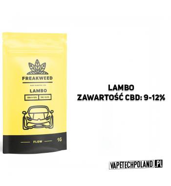 SUSZ KONOPNY FREAKWEED FLOW - LAMBO CBD 9-12% | THC < 0.2%INDICA 50% | SATIVA 50%WAGA 1g 2