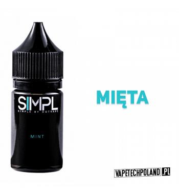 SIMPL - Mint 20ML Mroźna mięta! 20ml płynu w butelce o pojemności 30ml.Produkt Shake and Vape przeznaczony do wcześniejszego