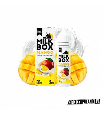 PREMIX BLVK MILK BOX - MANGO 50ml Premix o smaku mango z mlekiem.50ml płynu w butelce o pojemności 60ml.Produkt Shake and V