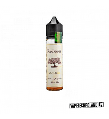 PREMIX RIPE VAPES - VCT SAN JUAN 20ml Premix o smaku cygara i tytoniu. 20ml płynu w butelce o pojemności 60ml.Produkt Shake a