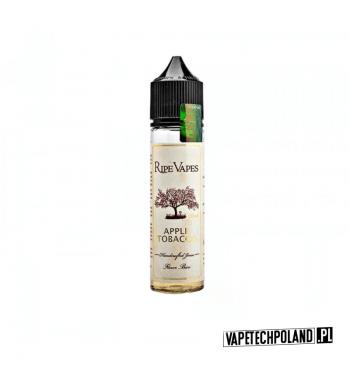 PREMIX RIPE VAPES - VCT APPLE TOBACCO 20ml Premix o smaku tytoniu z jabłkiem. 20ml płynu w butelce o pojemności 60ml.Produkt