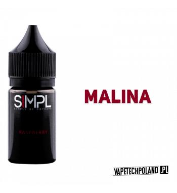 SIMPL - Raspberry 20ML Słodziutka malinka! 20ml płynu w butelce o pojemności 30ml.Produkt Shake and Vape przeznaczony do wcze