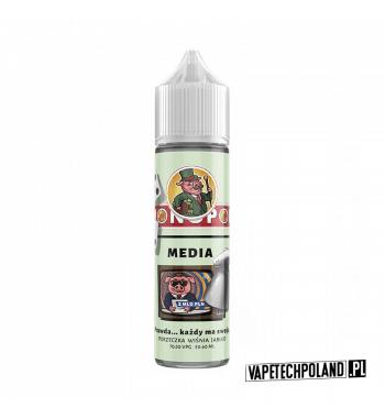 Premix MONOPOL - Media 50ml Premix o smakuporzeczki, wiśni i jabłka. 50ml płynu w butelce o pojemności 60ml.Produkt Shake an