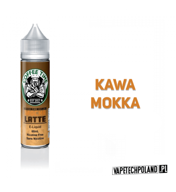 Premix COFFEE TIME - MOCHA LATTE 50ml Premix o smaku kawy mokka. 50ml płynu w butelce o pojemności 60ml.Produkt Shake and Vap