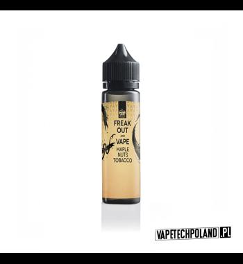 Premix Freak Out - Maple&Nuts&Tobacco 50ml Premix o smakuklonu, orzeszków oraz tytoniu. 50ml płynu w butelce o pojemności 60ml