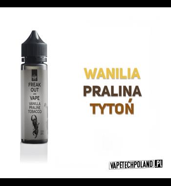 Premix Freak Out - Vanilla&Praline&Tobacco 50ml Premix o smakuwanilii, praliny oraz tytoniu. 50ml płynu w butelce o pojemności