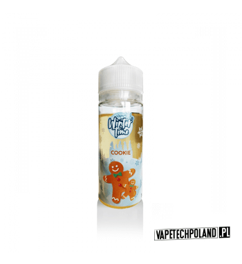 Premix Vapy Winter Time - COOKIE 100ml Premix o smaku ciastka. 100ml płynu w butelce o pojemności 120ml. Produkt Shake and Vape