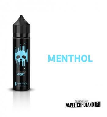 Premix VAPETECHPOLAND DARK LINE - Menthol 40ML MENTHOL - Idealny dla poszukiwaczy mocnych smaków. Słodkie, mentholowe orzeźwien