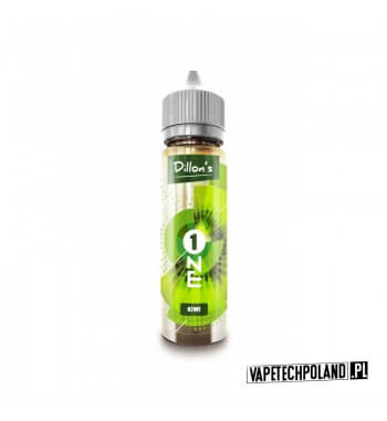 Premix Dillons ONE - KIWI 50ml Premix o smakukiwi.50ml płynu w butelce o pojemności 60ml. Produkt Shake and Vape przeznaczon