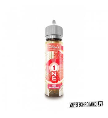 Premix Dillons ONE - PINK GRAPEFRUIT 50ml Premix o smakugrapefruita.50ml płynu w butelce o pojemności 60ml. Produkt Shake an