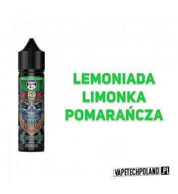 PREMIX HIGH5 COOLMIX - GREEN EIRE 40ml Premix o smakulemoniady z limonką i pomarańczą.40ml płynu w butelce o pojemności 60ml