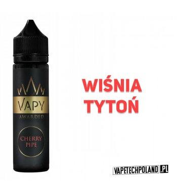 Premix Vapy AWARDED - Cherry Pipe 40ML Premix o smaku wiśni z tytoniem.40ml płynu w butelce o pojemności 60ml.Produkt Shake