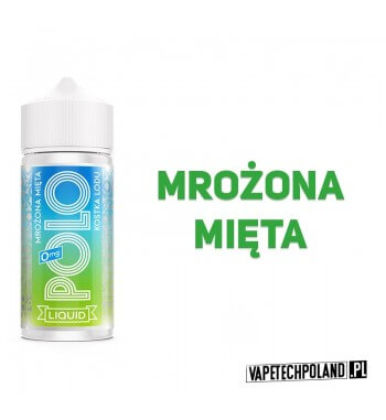 Premix POLO - KOSTKA LODU 80ML Premix o smaku mrożonej mięty.80ml płynu w butelce o pojemności 100ml.Produkt Shake and Vape