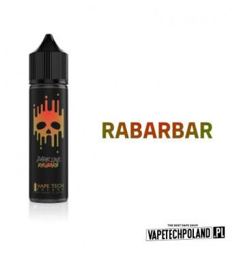 Premix VAPETECHPOLAND DARK LINE - RHUBARB 40ML RHUBARB - Słodki ajednocześnie lekko mdły smak rabarbaru. Smak bardzo stonowany