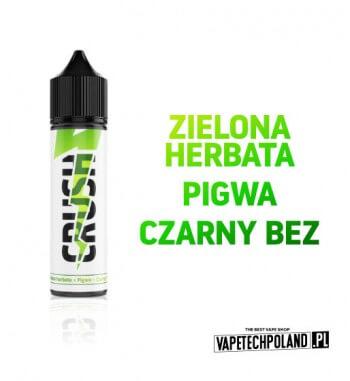 PREMIX VAPETECHPOLAND CRUSH - Zielona Herbata X Pigwa X Czarny Bez 40ML Delikatna ZIELONA HERBATA z dodatkiem słodkiej PIGWY i