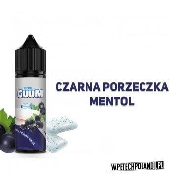 Premix COOL GUUM - Czarna Porzeczka - Menthol Premix o smakuczarnej porzeczki z mentholem. 40ml płynu w butelce o pojemności 6