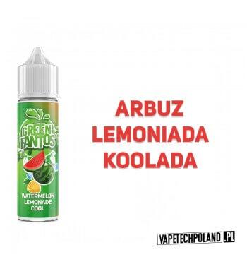 Premix FANTOS - GREEN FANTOS 40ML Premix o smakulemoniady arbuzowej z kooladą. 40ml płynu w butelce o pojemności 60ml. Produkt