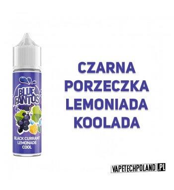 Premix FANTOS - BLUE FANTOS 40ML Premix o smakulemoniady z czarną porzeczką idodatkiem koolady. 40ml płynu w butelce o pojemn