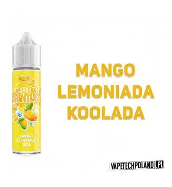 Premix FANTOS - YELLOW FANTOS 40ML Premix o smakulemoniady mangoz dodatkiem koolady. 40ml płynu w butelce o pojemności 60ml.