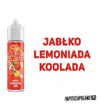 Premix FANTOS - RED FANTOS 40ML Premix o smakulemoniady jabłkowejz dodatkiem koolady. 40ml płynu w butelce o pojemności 60ml.