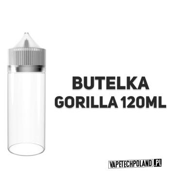 BUTELKA GORILLA - 120ML Plastikowa butelka GORILLA o pojemności 120ML. (kolor pomarańczowy) 2